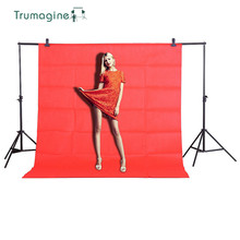 1.6X2M/5.2X6.5ft Red Photo Screen Photography Studio Background Non woven Fabric Backdrops Chromakey Backdrop Cloth цены онлайн