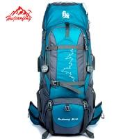 85L External Frame Long Haul Climbing Bag Durable Nylon Material Unisex Travel Camping Outdoor Sport Backpack