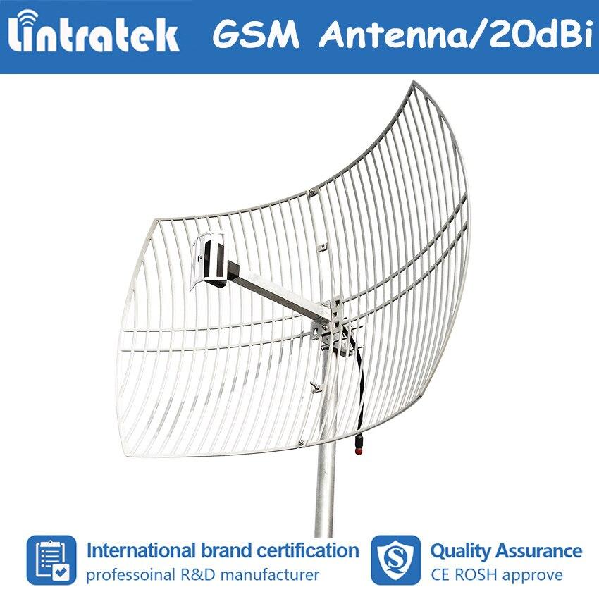 Antenne de grille à Gain élevé 20dBi 820 ~ 960 Mhz utilisation d'antenne externe pour amplificateur de répéteur de Signal de téléphone portable CDMA 2G GSM #7