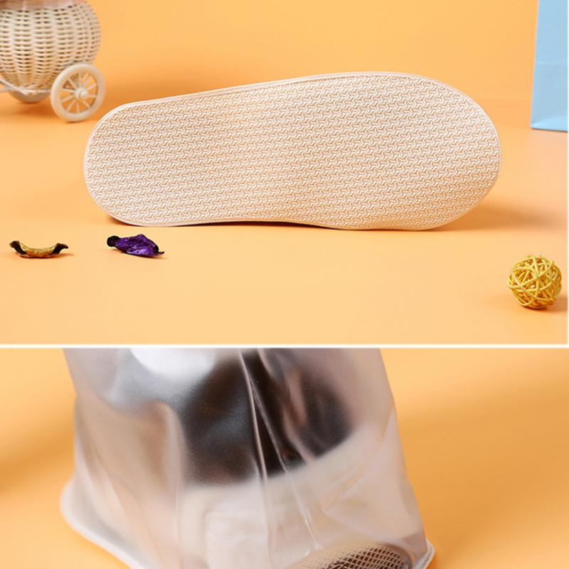 1pair Waterproof Shoe Protector in Unique Design with Zipper including High Top and Anti Slip Bottom for Unisex Useful for Rainy Season 5