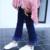 Nova Primavera Outono Meninas Calças Borla Meninas Moda Jeans Crianças calças de Brim Do Bebê Meninas Casuais Calças Jeans Calças 2-8a Menina