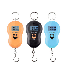 50kg Digital Kitchen Scale Grams Four Units: Kg Oz Lb Jin Portable Electronic Express Parcel Hanging Fishing Food