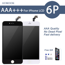 10PCS/LOT Quality AAA No Dead Pixel LCD For iPhone 6 Plus LCD Touch Screen Digitizer Assembly Display Replacement Free Shipping цены