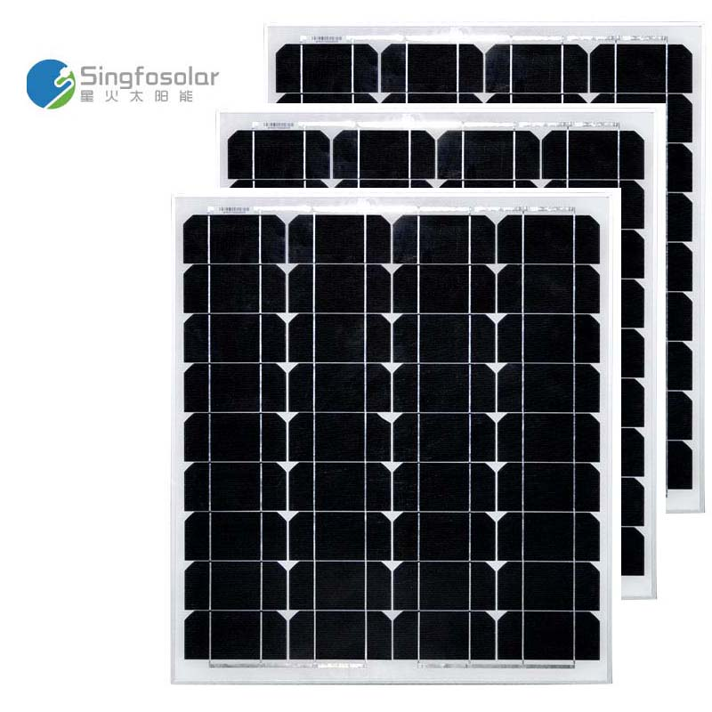 Panneaux Solaire 12V 50W 3Pcs/Lot Panels Solar 150W 36v Solar Battery Waterproof Solar Power System Car Camp Caravan Motorhome