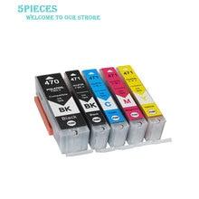 LuoCai PGI-470 CLI-471 Compatible Ink Cartridges For Canon MG5740/MG6840/MG7740/TS5040/TS6040/MG8640 Ink PGI470 CLI471 printer 12 pack pgi470 cli471 pgi 470bk cli 471 bk c m y gy compatible ink cartridge for canon pixma mg5740 mg8640 ts5040 ts6040