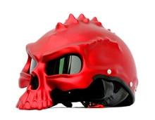 Masei 489 Harley Motocicleta Casco Capacetes casco Del Cráneo Del motorista Motor Retro Estilo Casque