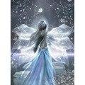 5d diy мозаичное искусство Вышивка фантазия сказочная алмазная живопись Стразы Вышивка крестом свадьба вышивка Новогодний подарок KBL