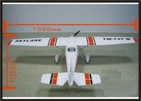 All set EPO plane/ RC airplane/RC MODEL HOBBY TOY/HOT SELL/BEGINNER plane 6 channel plane /1560mm CESSNA182 TW747 3 RTF Set