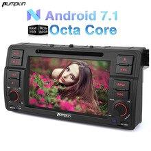 Calabaza 7 Pulgadas 2 Din Android 7.1 Coches Reproductor de DVD Para BMW E46/M3/318 Gps Radio de Coche Bluetooth Wifi 3G USB Estéreo FM Mapas