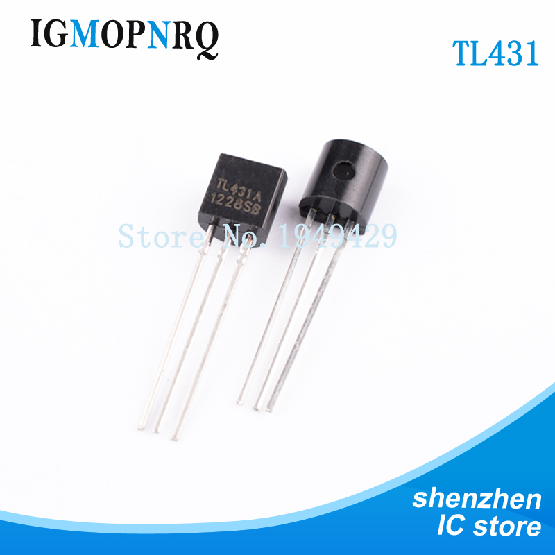 50PCS/Lot Wholesale Electronic TL431 TL431A Tl431 TO-92 Regulator Tube Triode Original New