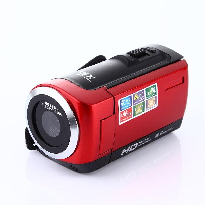 JOZQA HD 1080 P caméra numérique HDV caméra vidéo caméscope 16MP 16x Zoom COMS capteur 270 degrés 2.7 pouces TFT LCD écran