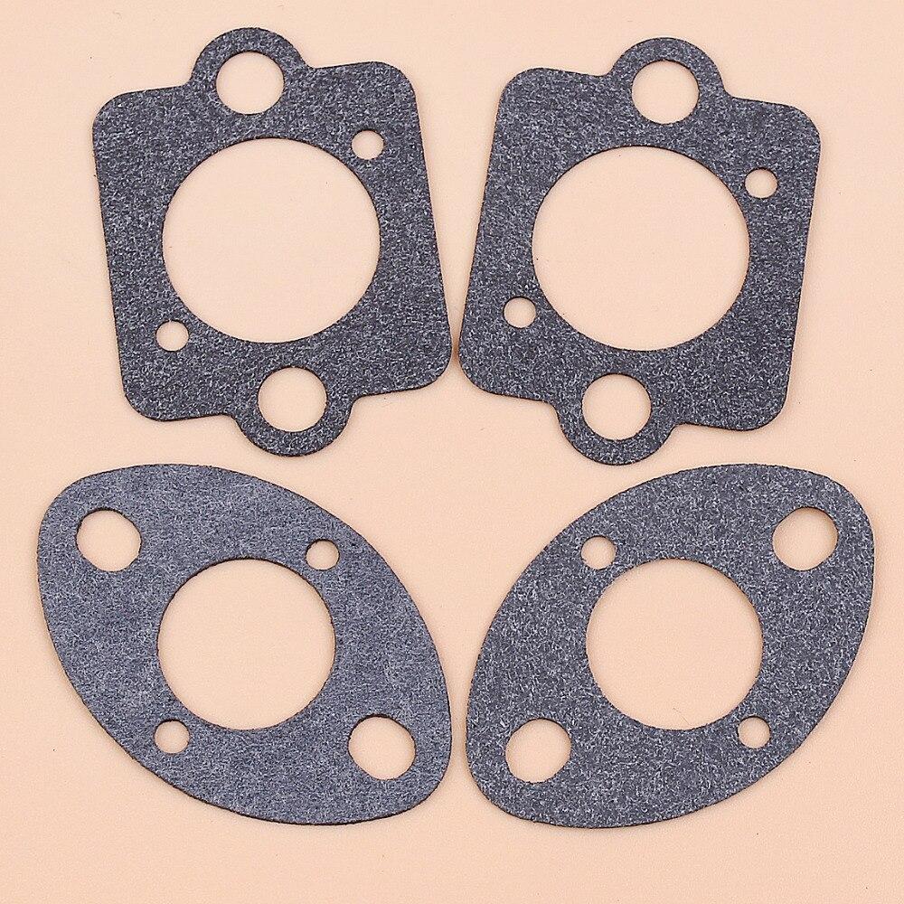 2Set Carburetor Carb Gasket Fit HUSQVARNA 455 E 455E 455 Rancher 460 461 Jonsered CS2255 Chainsaw Parts