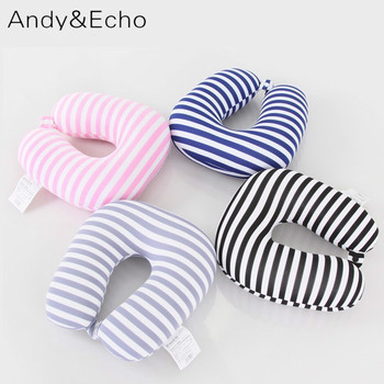 Striped Airplane Travel Pillows