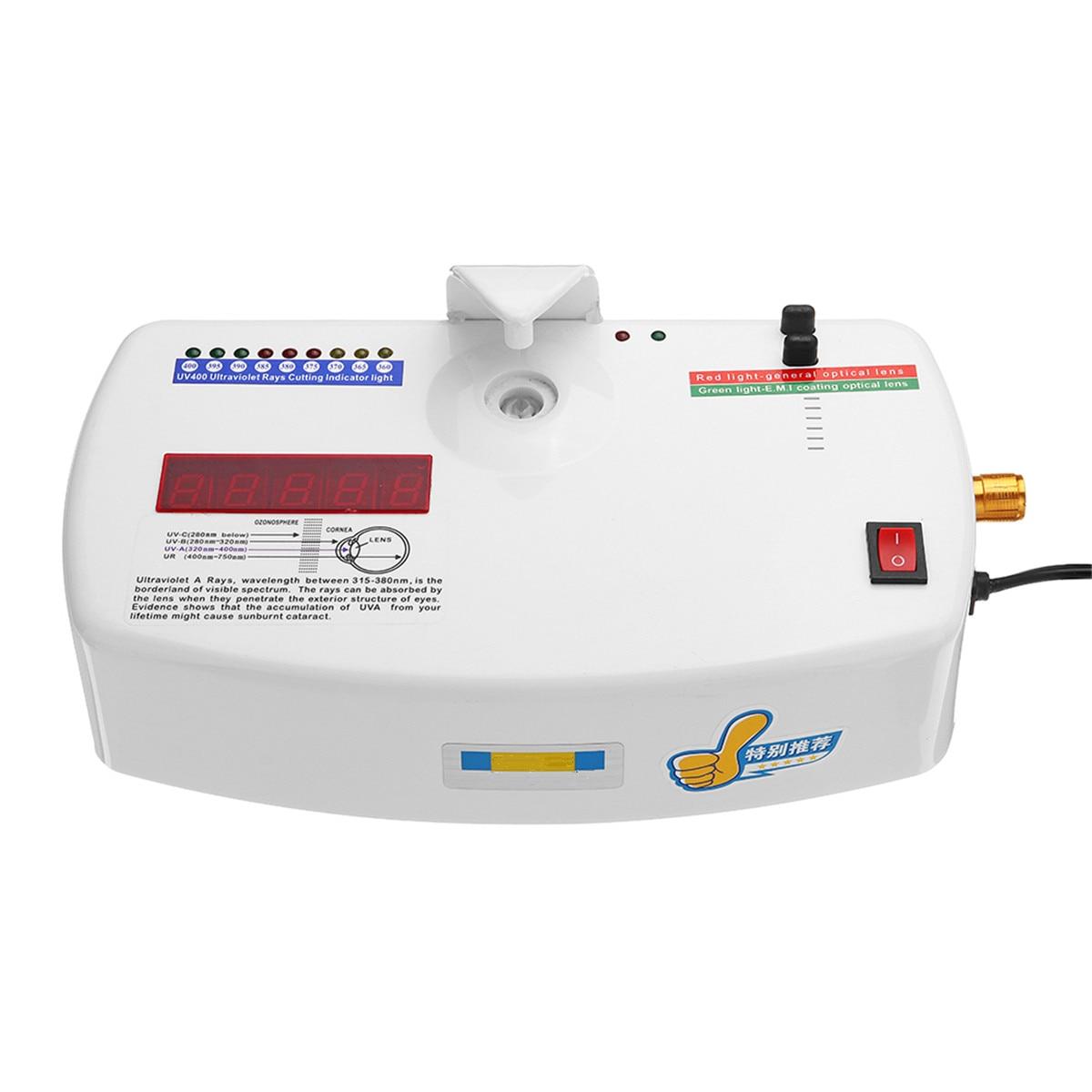 цены на 220V UV400 Optical Lens Anti radiation Ultraviolet Ray UV Tester Detector Glasses Equip Measurer Glasses Testing Equipment Tool в интернет-магазинах