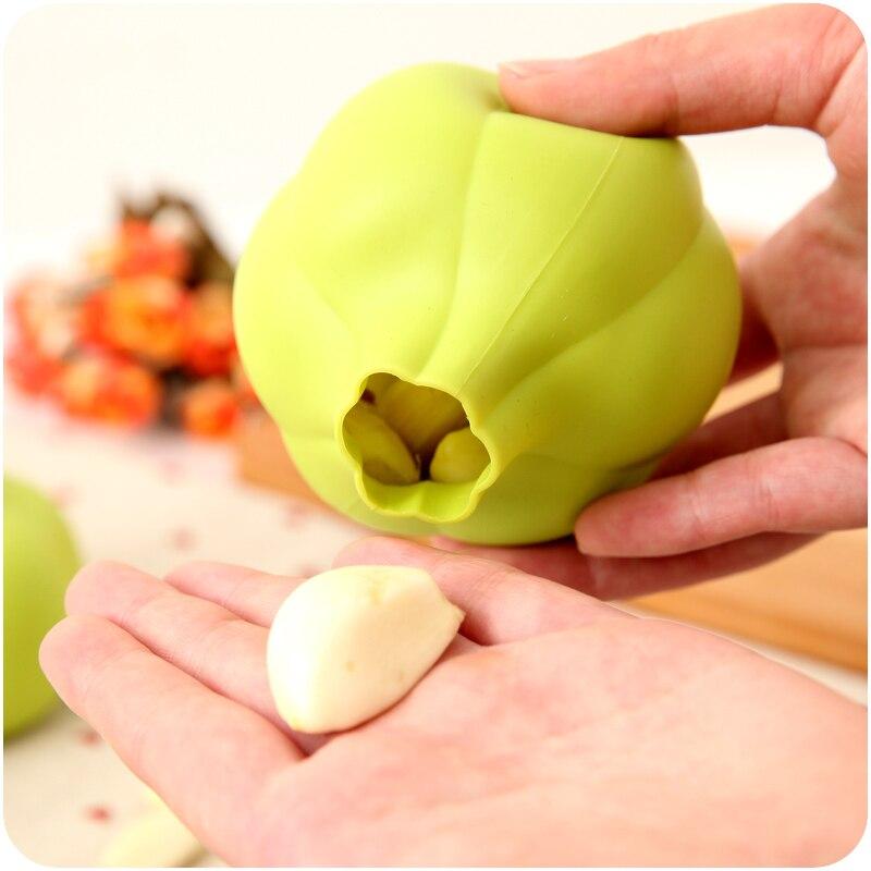 1 unid Cocina Creativa Pelar Pelar El Ajo Ajo Ajo Pelado Dispositivo de Silicona