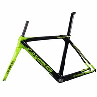 ICAN Carbon Road Frame Customized Paint 2016 Carbon Bike Frame Di2 And BB86 Inner Cable 50