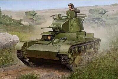 Hobby Boss modèle 82497 1/35 soviétique T-26 MOD.1938 kit de modèle en plastique