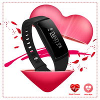 Bluetooth New Smart Watch Blood Pressure Monitor Bracelet Sports Watch Pedometer Fashion Women Smartwatch For Ios