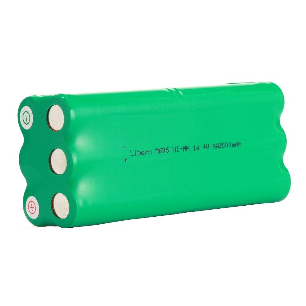 1pcs NI MH 14 4V 1500mAh Vacuum Rechargeable Battery For Vbot 270 Libero M606