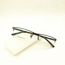 Eyesilove, мужские очки для близорукости, металлические очки для близорукости, очки для большого лица, близорукие, очки по рецепту-1,0~-6,0