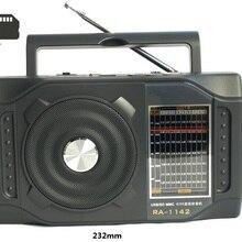 Абсолютно портативный Радиоприемник 11 полос радиоприемник Am/Fm/SW радио Поддержка USB флэш-диск SD карта MP3 музыкальные файлы Aux-in