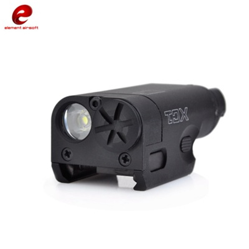 Element Airsoft Tactical LED Flashlight Helmet Guide Lighting Suitable for Outdoor Hunting Activities Airsoft Weapon Guide Light element tactical led weapon lights outdoor hunting hk light gun mount usp pistol airsoft military flashlight streamlight ne01005