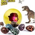 5pcs Magic Hatching Growing Dinosaur Add Water Grow Dino Cracks Grow Egg Animal Breeding Process Teach Toys For Children Kid