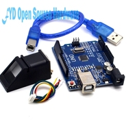 High Quality Fingerprint Module For Optical Fingerprint Sensor 1pcs UNO R3 MEGA328P With Usb Cable