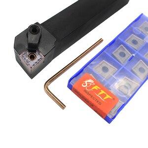 Image 1 - CNMG120408 LM HP1025 10 قطعة + 1 قطعة MCLNR2020K12 كربيد إدراج ل آلة خرط تعمل بالتحكم الرقمي بواسطة الحاسوب Turnning القاطع حامل تحول أدوات حامل