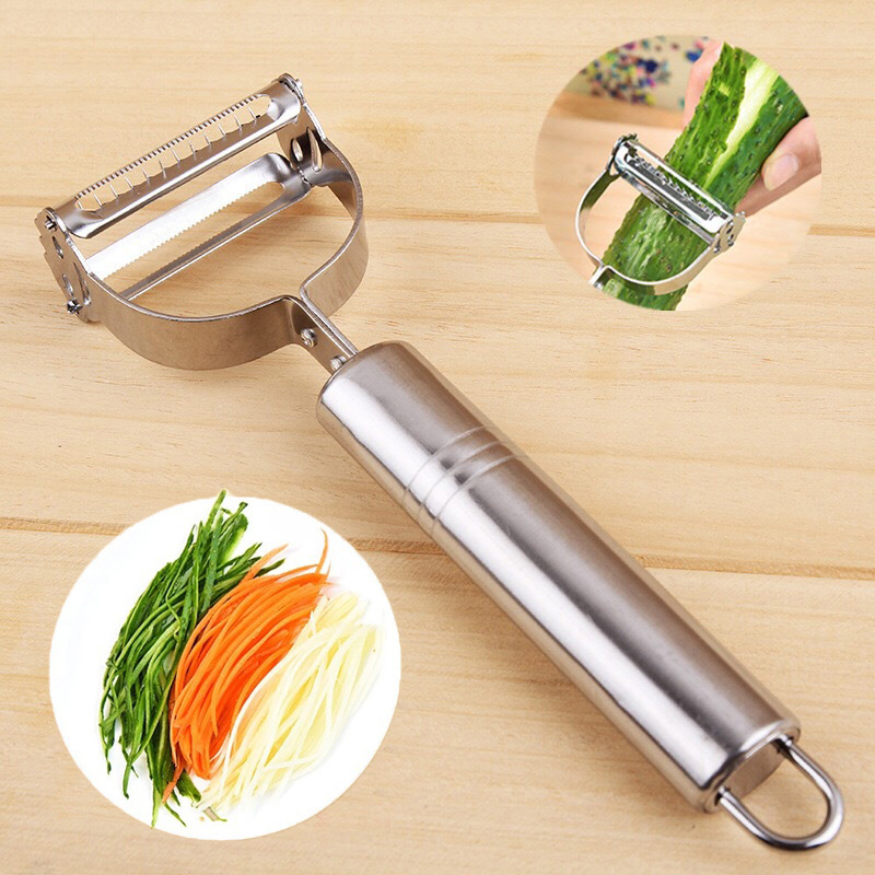 Stainless Steel Multi Purpose Peeler Cutter Julienne Potato Kitchen Grater tools
