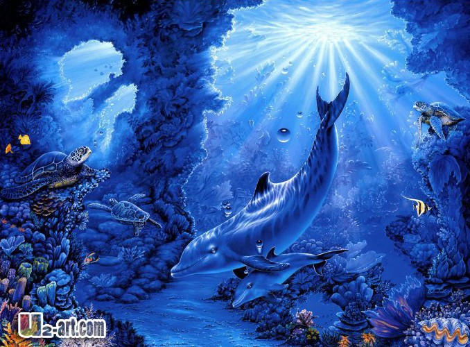 Art Fantasy Underwater