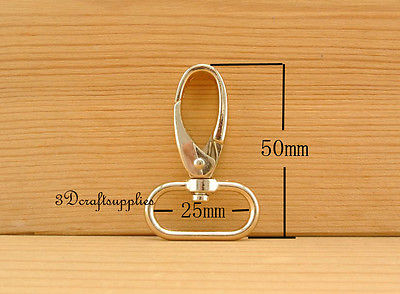 Lobster Clasps Clips Claw purse hooks Swivel snap hook light gold 25 mm 8pcs i16 owner 52567 16 hooked snap swivel 9 шт