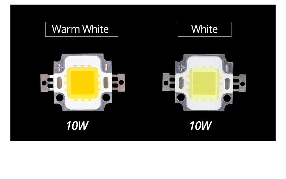 LED Chip 12V 10W 30V-36V 20W 30W 50W 100W Integrated COB LED Beads DIY Floodlight (3)