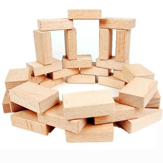 Buy 50pcs lot high quality solid wood for Where to buy wood blocks for crafts