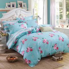 Verano juegos de cama 4 unids cubierta juegos de Cama de estilo de celosía de moda de buena calidad muy suave Rey Reina Completo Doble