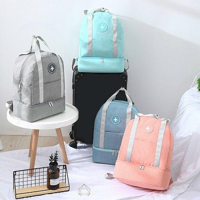 Дорожная сумка для багажа, сумка для хранения одежды, бюстгальтер, нижнее белье, водонепроницаемая переносная сумка для хранения на молнии