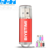 New Arrival RBT Usb Flash Drives BIYETIMI Corloful Love  8GB 16GB 32GB 64GB Pen Drive Memory USB Stick Pendrive Pc