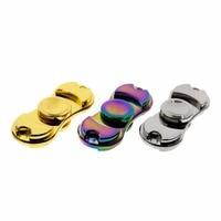 2017 Tri Fidget Hand Spinner Triangle Torqbar Aluminum Alloy Puzzle Finger Toy EDC Focus Fidget Spinner