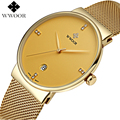Homens marca De Luxo Relógios Homens Relógios de Quartzo Data Ultra Fino Relógio Masculino À Prova D' Água Esportes Relógio de Ouro Relógio de Pulso Casual relogio masculino