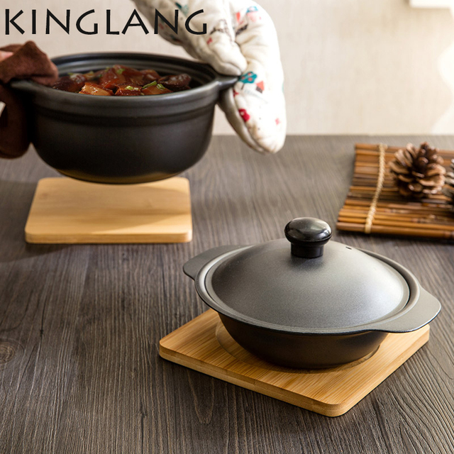 Multi Function Kitchen Ware Bamboo Heat Pad Placemat Slip Resistant Anti Hot Bowl Dining Table Mat Pot Holder Coasters