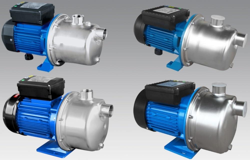 BJZ100 220 V~ 50 HZ самовсасывающий струйный насос из нержавеющей стали и бытовой чистый насос для питьевой воды, для среднего дома/сада