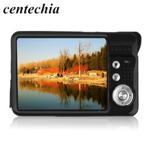 Cámara digital HD K09 2.7 pulgadas TFT LCD de la Cámara Digital Cam Señor CMOS Zoom Digital de 8x Anti-shake Anti-Cámara de ojos rojos