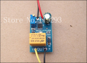 [BELLA]12V power relay closes the electrical circuit delay 10 seconds off the car modification switch control module--10pcs/lot