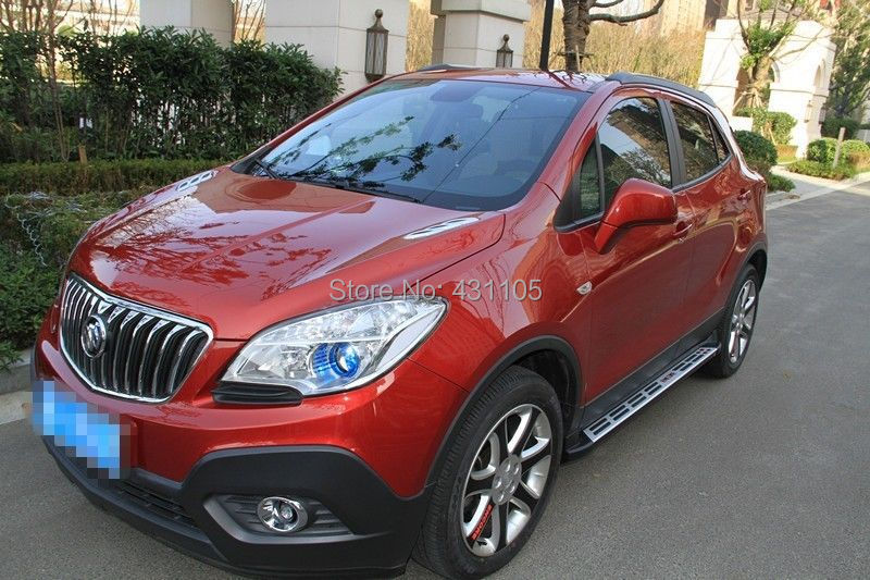 Aliexpress.com : Buy New style aluminium running board for BUICK Encore OPEL Mokka 2012 2013