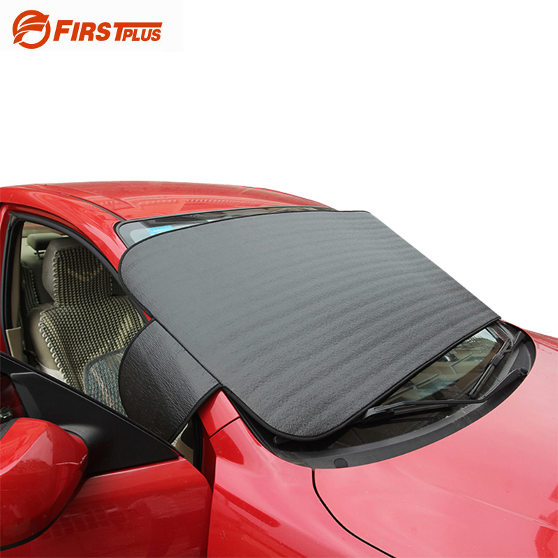 Car Styling UV Protection Car Windscreen Visor Sun Block Blinds Anti Snow Auto  Front Window Windshield Sun Shade Car Covers f5b77b6fd76