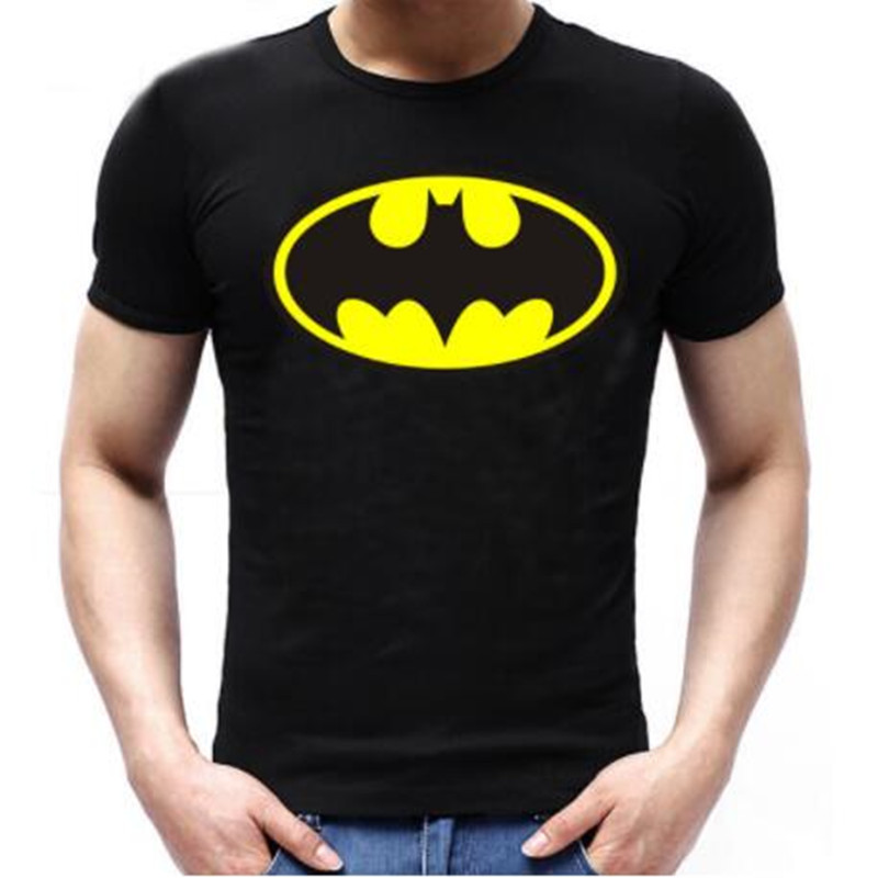 New Arrive Fashion Cartoon Batman   T     Shirts   Men O Neck Short Sleeve Men tshirt Tops Drop Shipping
