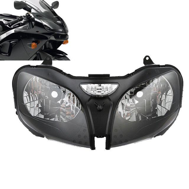 Motorcycle Front Headlight Lamp Assembly For Kawasaki ZZR600 05 08 ZX9R 00 03 Ninja ZX 6R 00 02