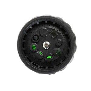 Image 2 - 8 ב 1 אקדח מים לשטוף את המכונית בלחץ גבוה רכב אוטומטי אקדח מים קצף אקדח מים מכונת כביסה קצף בית הגינה חיצוני נייד אקדח