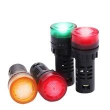 Сигнальная лампа, мигающий Предупреждение светильник 12 В, световой индикатор, светильник светодиодный, маленький мигающий светильник, безопасность