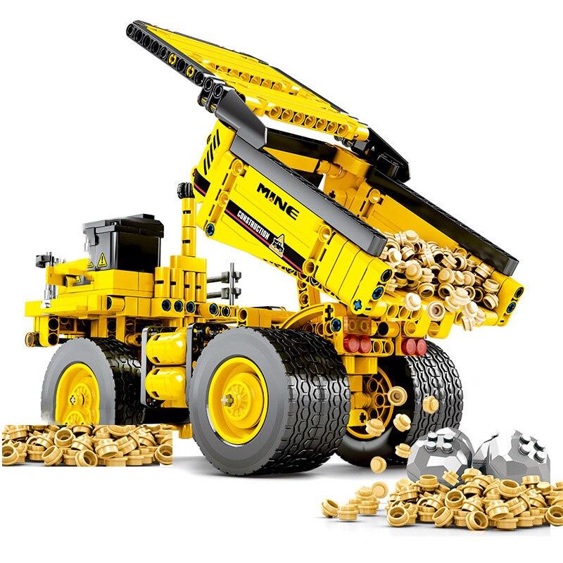 Technic-City-Mine-Truck-Engineering-Vehicle-Building-Blocks-City-Construction-Bricks-Educational-Toys-For-Children-Birthday (2)